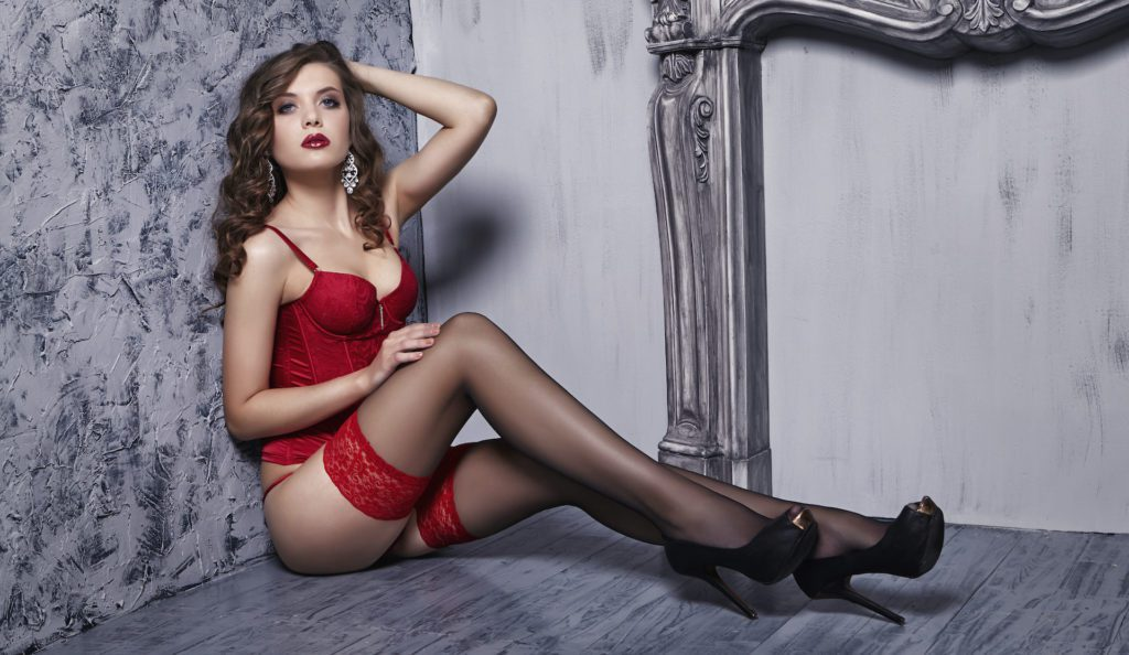 Lingerie Experience at our high end escortservice