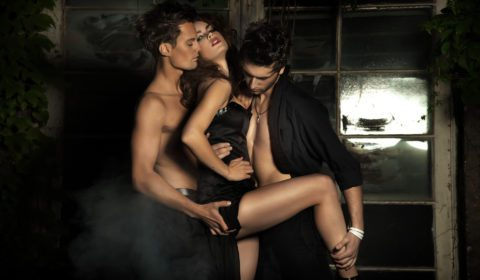 Book a gigolo for a MMF threesome with a couple
