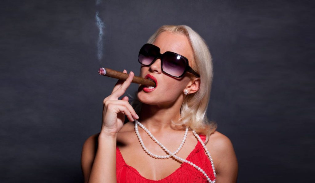 Is smoking a cigar with your escort sexy or not