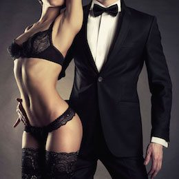 Book a gigolo and an escort for a very special booking such as a foursome